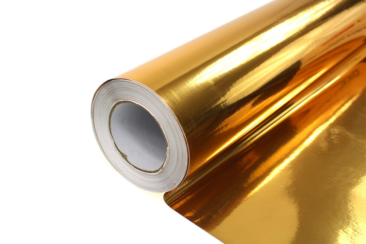 Folia Wrap Gold Chrome 1,52X30m - GRUBYGARAGE - Sklep Tuningowy